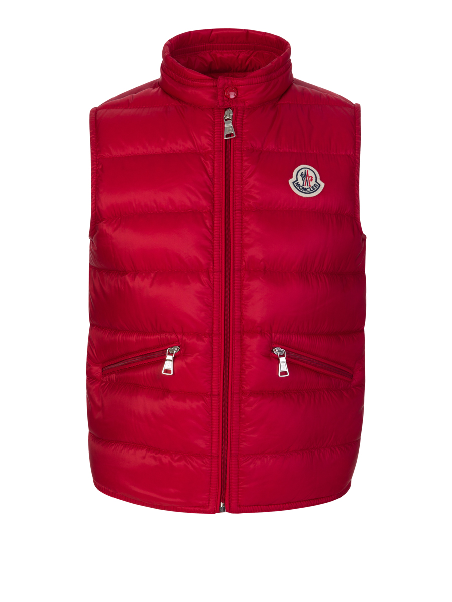Moncler Enfant Red Gui Gilet - Size 8 Years