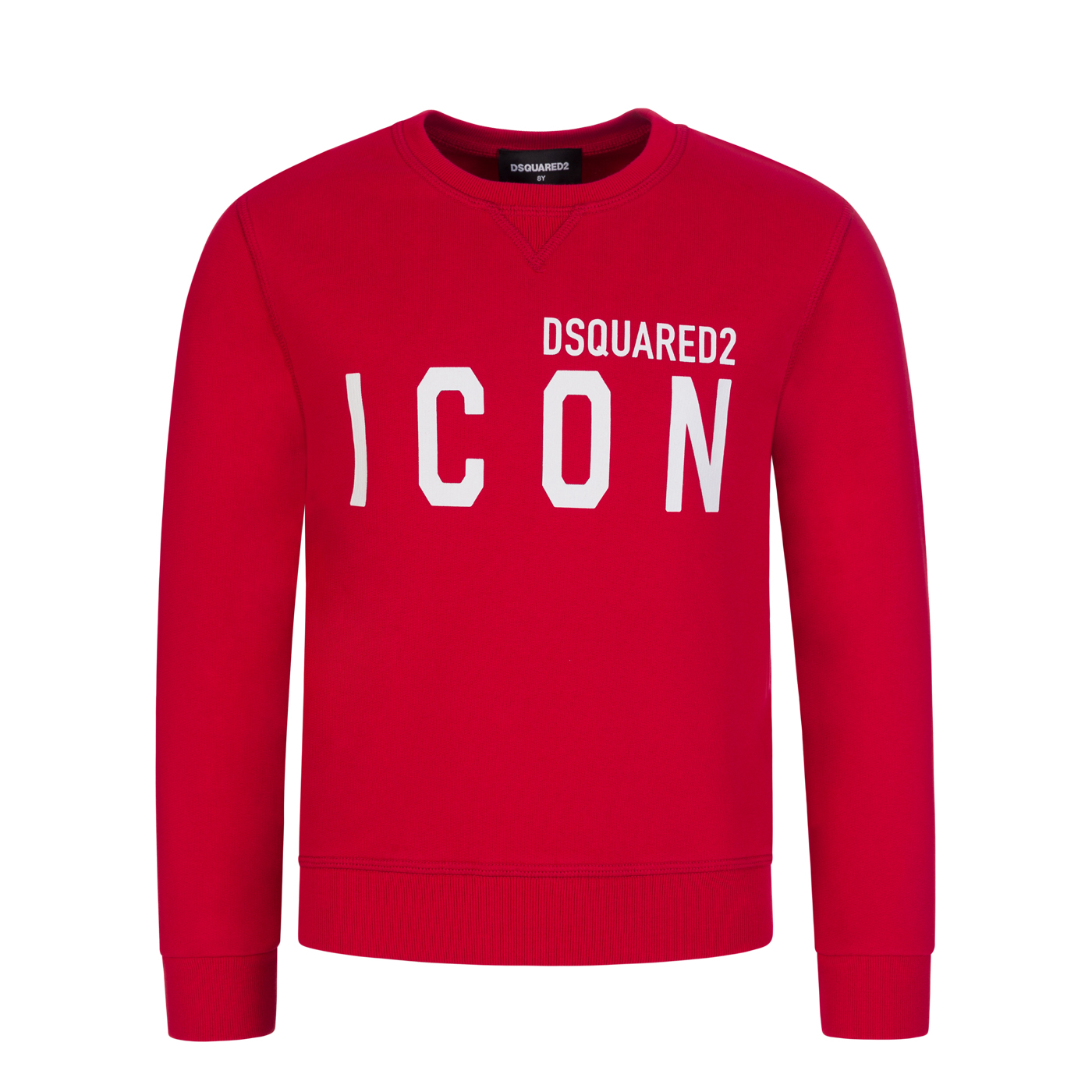 Dsquared2 Kids Red ICON Sweatshirt - Size 10 Years