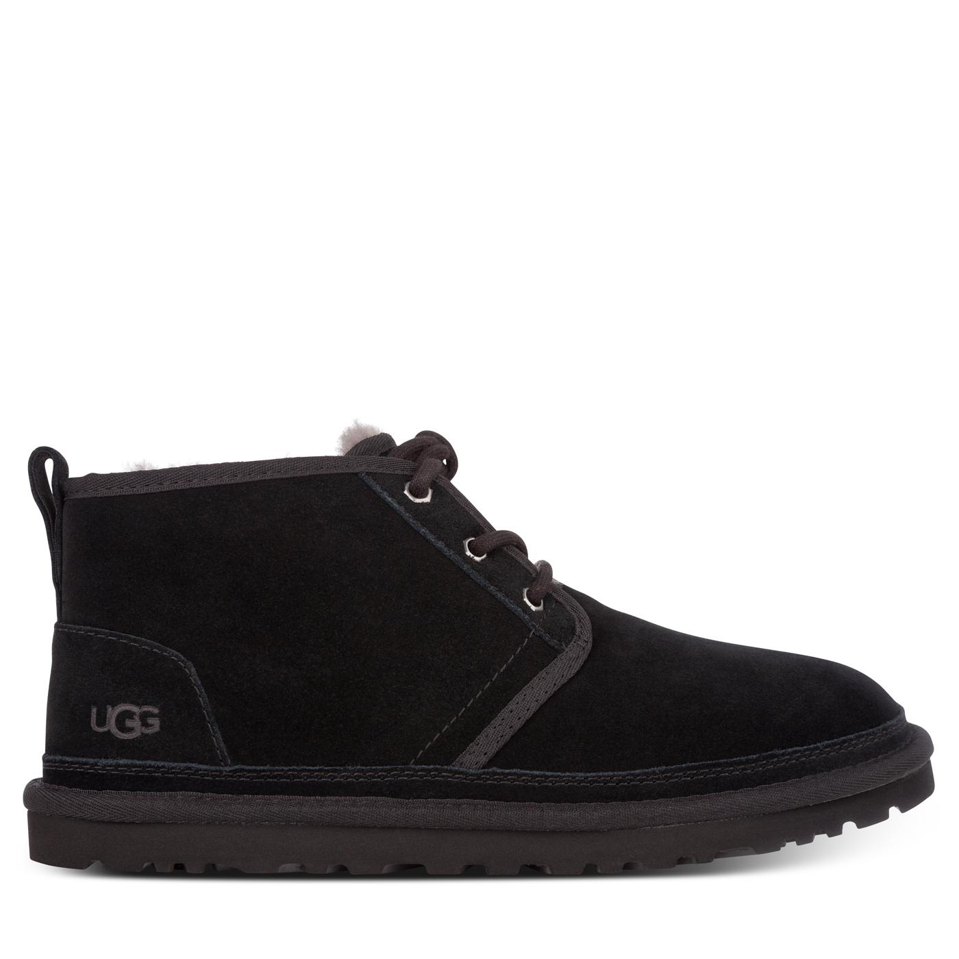 Ugg Black Neumel Boots - Size 9