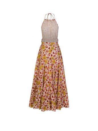 Sundress Beige Neptune Maxi Dress