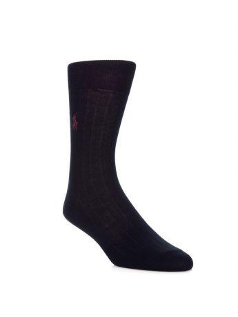 Polo Ralph Lauren Navy Egyptian Cotton Socks