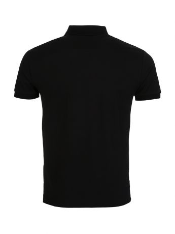 Polo Ralph Lauren Black Slim Fit Stretch Mesh Polo