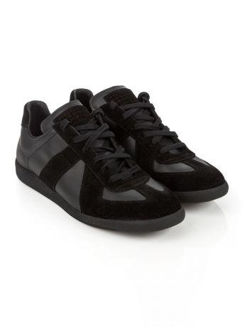 Maison Margiela Replica Black Trainers