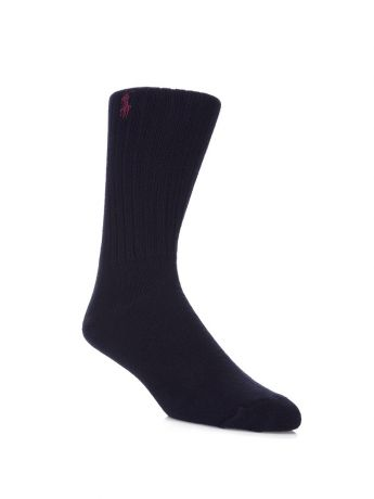 Polo Ralph Lauren Navy Pony Player Socks