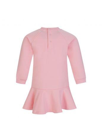 Moschino Kids Pink Toy Bear Baby Dress