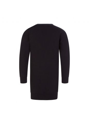 Moschino Kids Black Toy Bear Sweater Dress