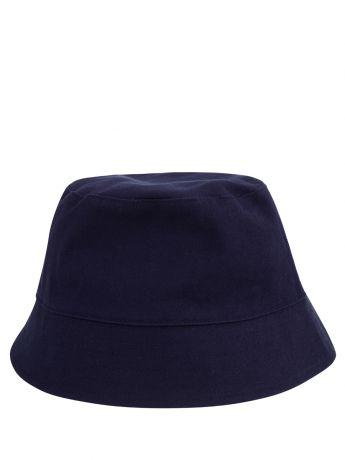 KENZO Kids Navy Logo Bucket Hat