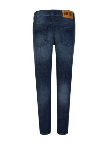 Diesel Dark Blue Denim D-Strukt Jeans
