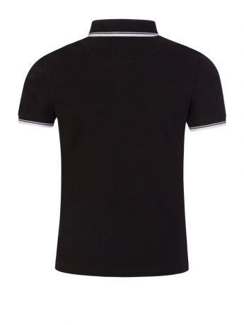 BOSS Kidswear Black Classic Logo Polo Shirt