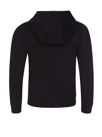 BOSS Kidswear Black Essential Tracksuit Top