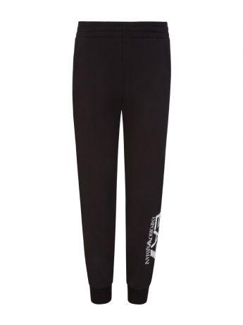 Emporio Armani EA7 Junior Black Leg Logo Sweatpants