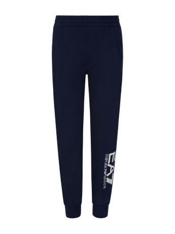 Emporio Armani EA7 Junior Navy Leg Logo Sweatpants