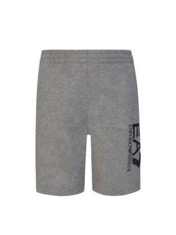Emporio Armani EA7 Junior Grey Camo Logo Shorts