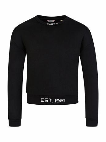GUESS Kids Black Logo Sweatshirt