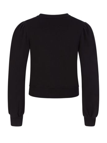 MSGM Kids Black Logo Sweatshirt