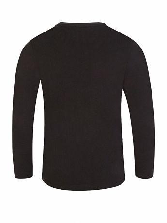 KENZO Kids Black Long Sleeve 'Disco Jungle' Elephant T-Shirt