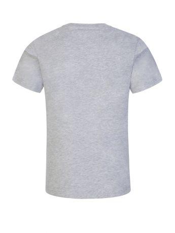 KENZO Kids Grey Elephant Logo T-Shirt