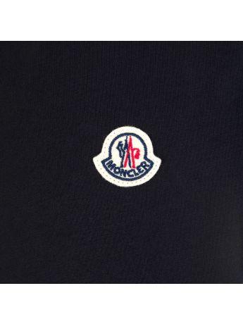Moncler Enfant Black Classic Logo T-Shirt