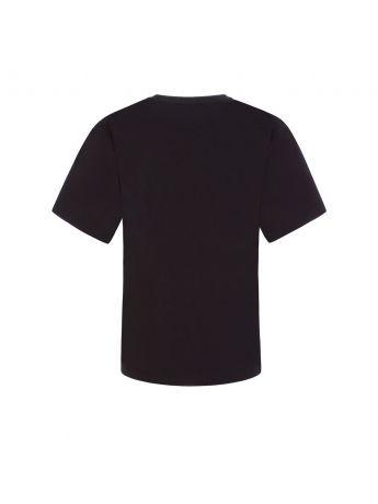 Moschino Kids Black Toy Bear Maxi T-Shirt