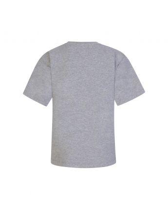 Moschino Kids Grey Toy Bear Maxi T-Shirt