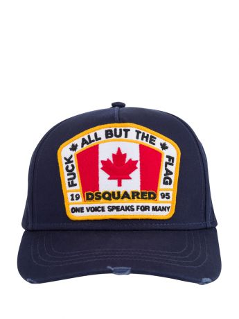 Dsquared2 Navy F*ck All But The Flag Cap