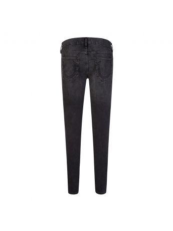 True Religion Black Skinny-Fit Destroyed Undertow Tony Jeans