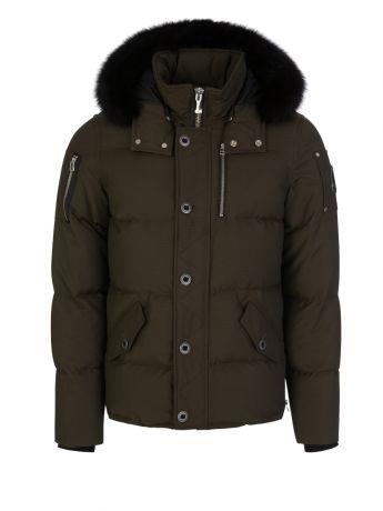 Moose Knuckles Green Slim-Fit 3Q Jacket