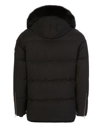 Moose Knuckles Black Slim-Fit 3Q Jacket
