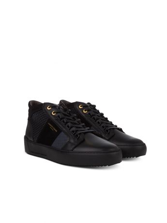 Android Homme Black Propulsion Mid Geo Trainers