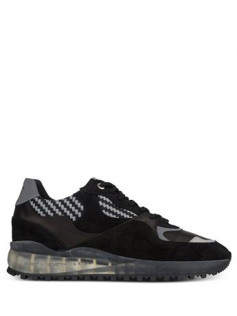 Android Homme Black Santa Monica Woven Trainers