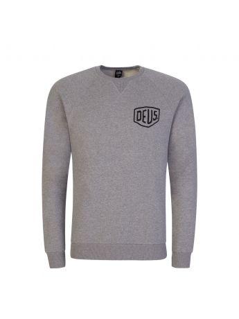 Deus Ex Machina Grey Ibiza Address Sweatshirt