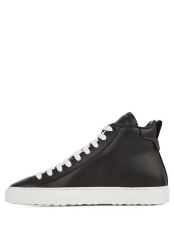 Dsquared2 Black San Diego High-Top Trainers