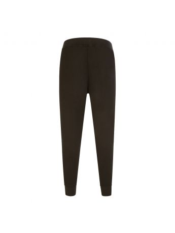 Dsquared2 Dark Green Stripe-Line Sweatpants
