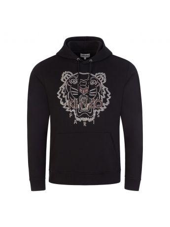 KENZO Black Tiger Seasonal 1 Popover Hoodie