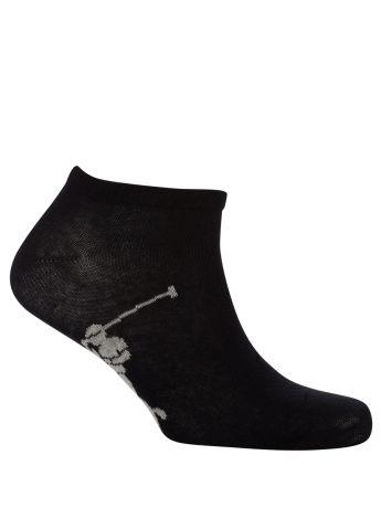 Polo Ralph Lauren White/Black Pony Sole Socks 3-Pack