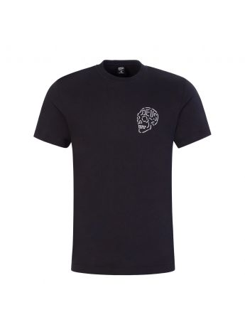 Deus Ex Machina Black Venice Skull T-Shirt