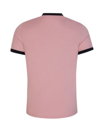 Fred Perry Pink Ringer T-Shirt