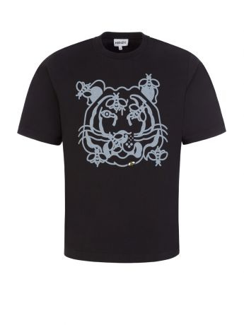 KENZO Black Bee a Tiger T-Shirt