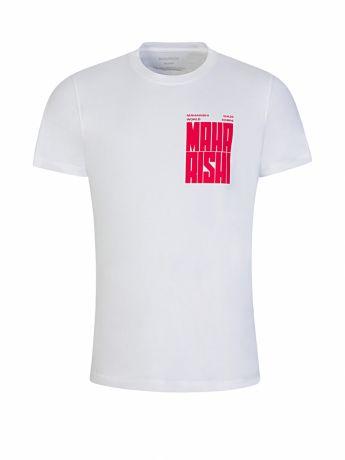 Maharishi White Organic Cotton World Corps T-Shirt