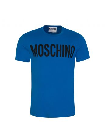 Moschino Couture Blue Logo T-Shirt
