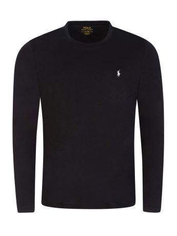 Polo Ralph Lauren Black Long Sleeve Sleep T-Shirt