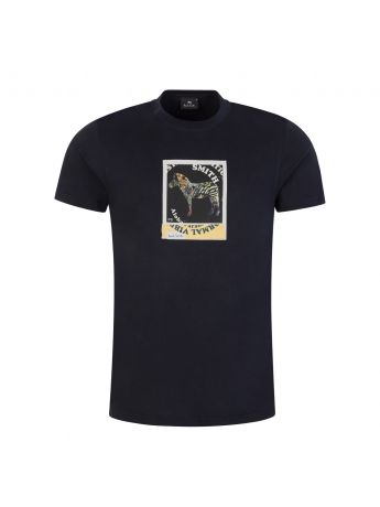 PS Paul Smith Black Zebra Polaroid T-Shirt