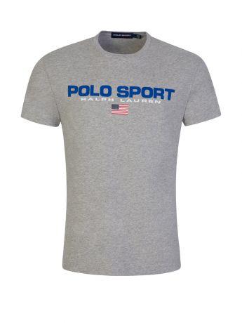 Polo Ralph Lauren Grey Polo Sport T-Shirt