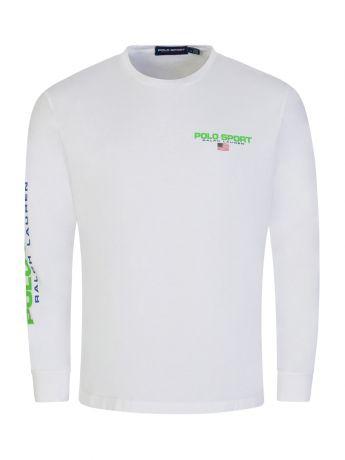 Polo Ralph Lauren Polo Sport White Jersey T-Shirt