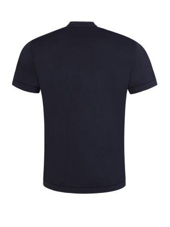 Stone Island Navy Cotton T-Shirt