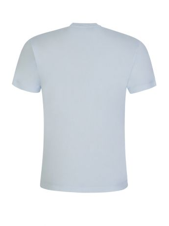 Stone Island Blue Cotton T-Shirt