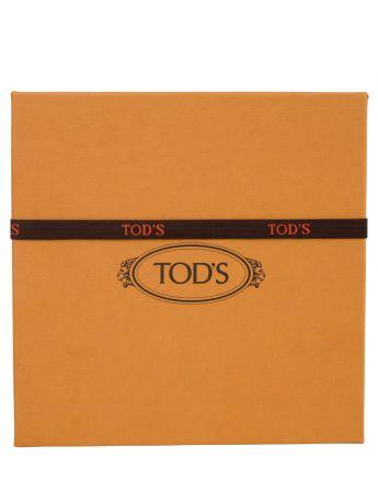 Tod's Brown Ponyskin-Effect Leather Timeless Belt