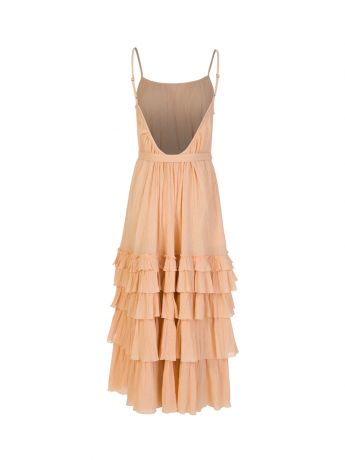 Sundress Orange Lea Maxi Dress