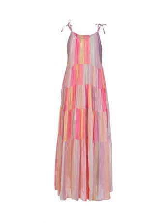 Sundress Multicoloured Valeria Maxi Dress
