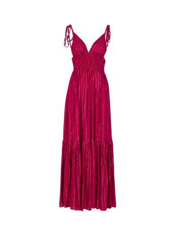 Sundress Pink Yolanda Maxi Dress